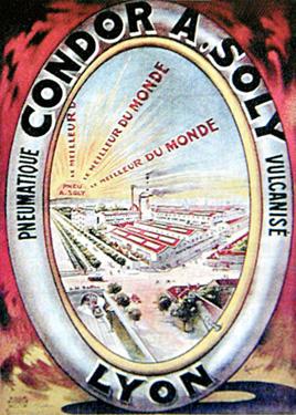 Affiche publicitaire de l'usine A. Soly, avant 1925