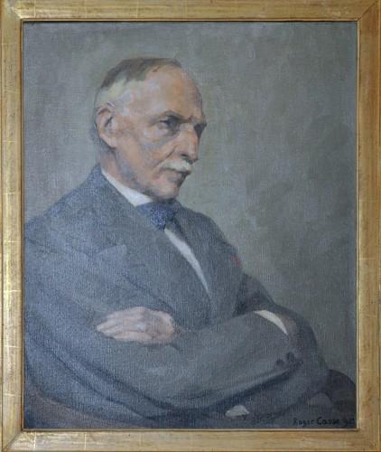 Portrait de Léon Grosse, fondateur de l'entreprise
