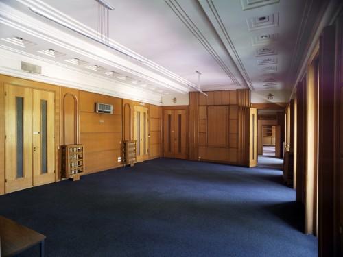 Une des salles de jeu du cercle, au premier étage