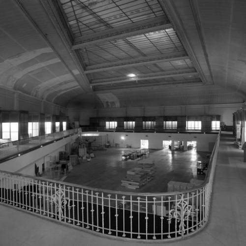 L'ancienne patinoire devenue grande salle du Muséum d'Histoire naturelle, état en 2005