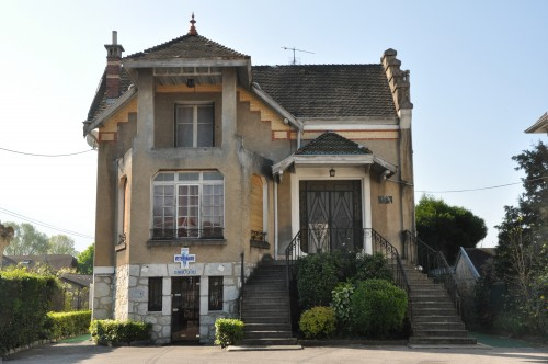 Villa située le long de l'avenue du Grand Port. Harreau Denys. 2013. © Région Rhône-Alpes, service de l'Inventaire général du patrimoine culturel © Ville d'Aix-les-Bains.