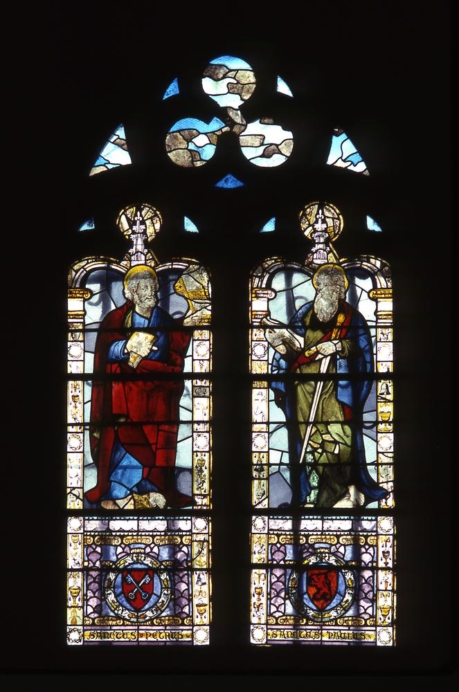 Baie 0 de l'église Saint-Pierre de Manthe (Drôme). Bruno Cougnassout © Région Rhône-Alpes, Inventaire général du patrimoine culturel, 1983 - ADAGP