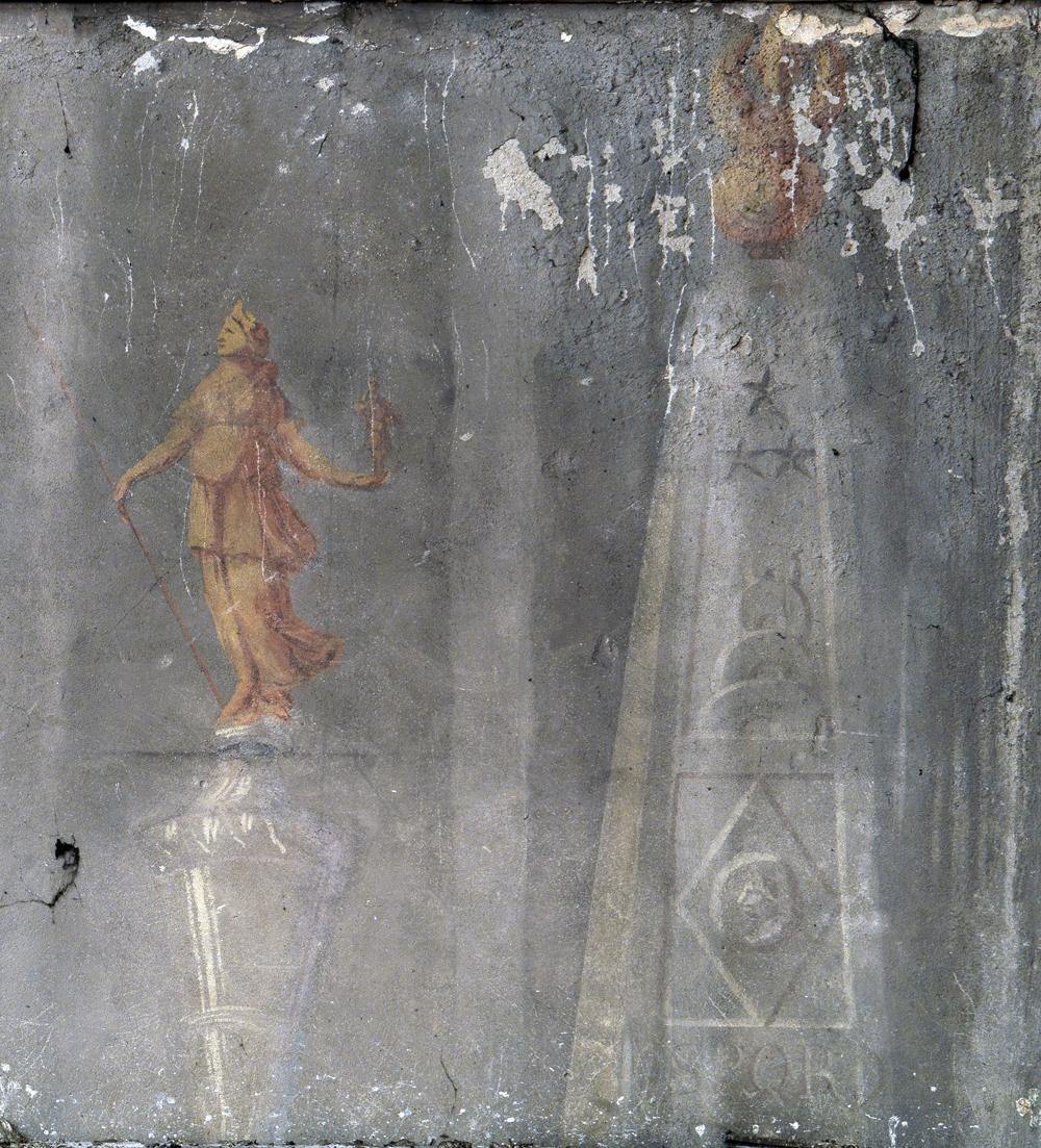 Ill. 14 Mur sud, détail partie droite