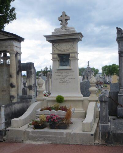 Vue générale du tombeau de Philippe Héron. Phot. Véronique Belle © Région Auvergne-Rhône-Alpes, I.G.P.C., 2020